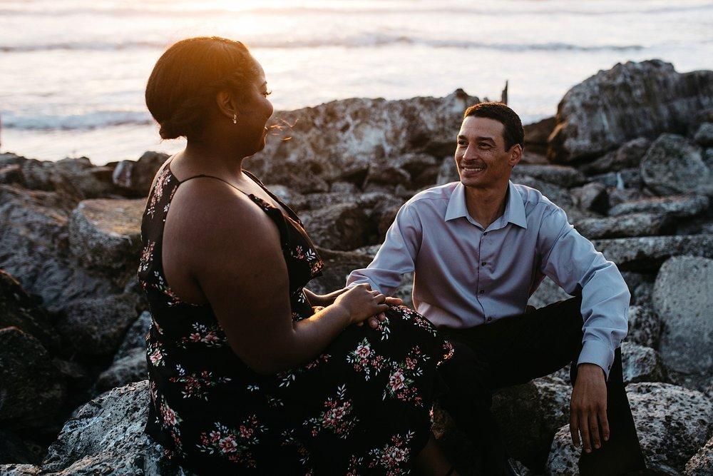 Sutro Baths engagement session - Sf Bay Area wedding photographer