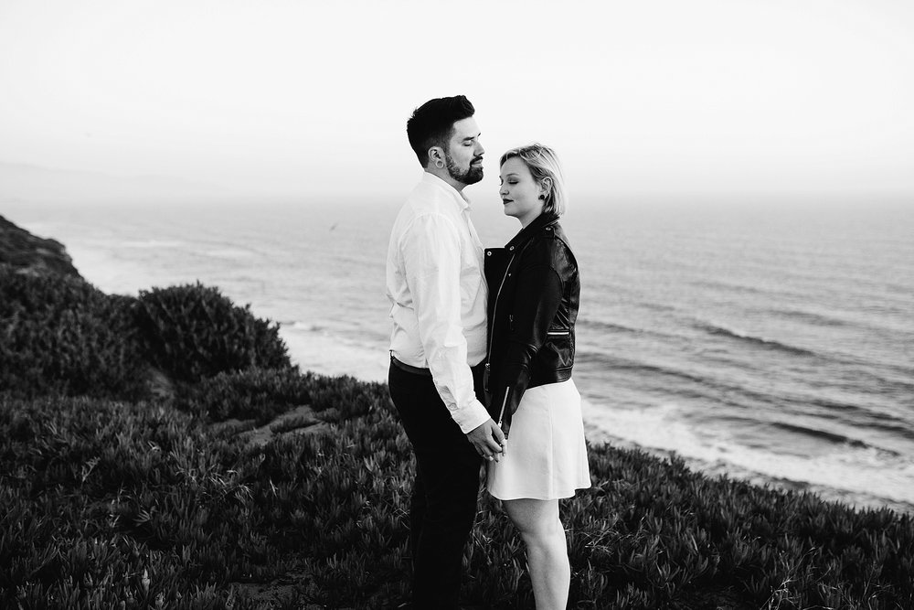 fort funston engagement session - San Francisco engagement session- Bay Area wedding photographer