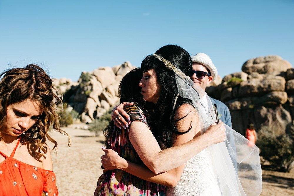joshua tree wedding photographer // california desert wedding