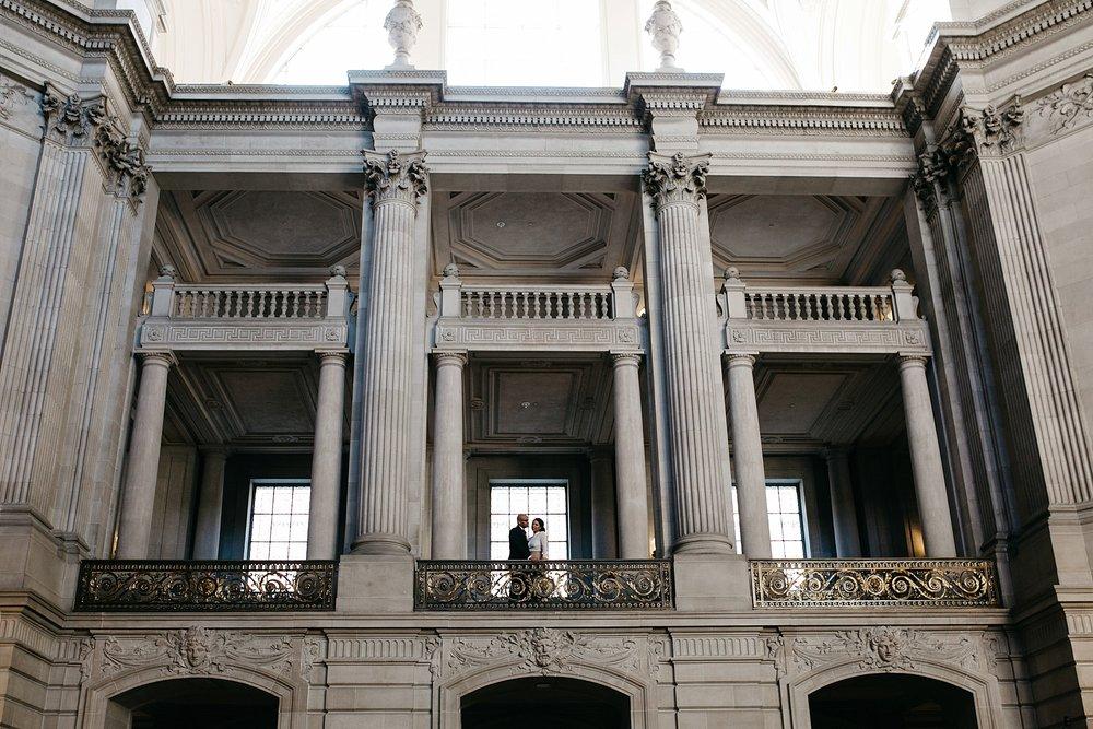 San Francisco city hall elopement // sf city hall elopement photographer // San Francisco city hall photographer // sf elopement photographer