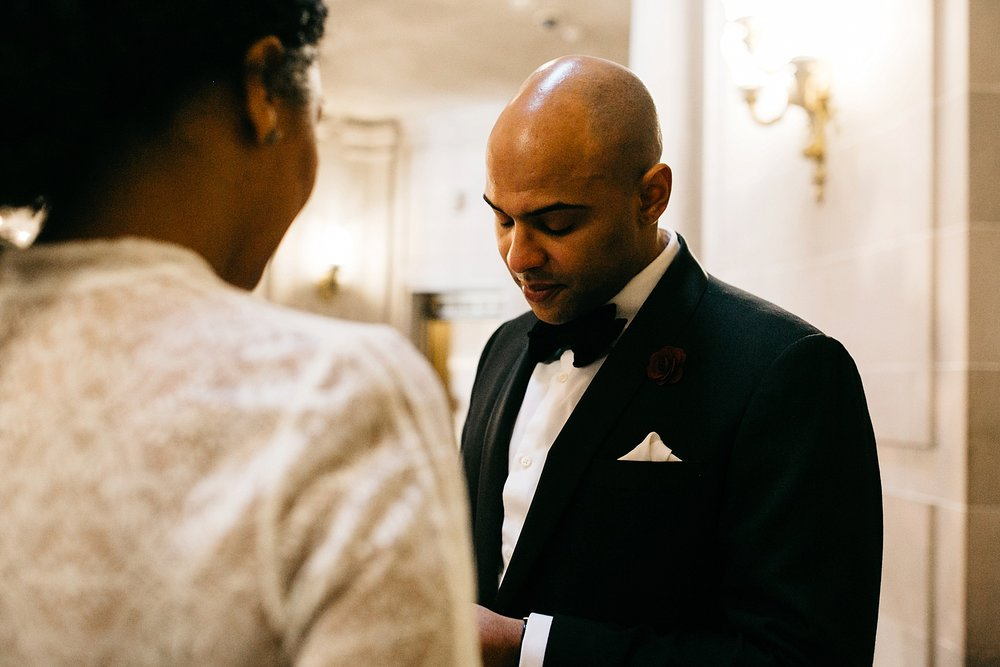sf city hall elopement // San Francisco city hall wedding photographer // sf city hall elopement photographer