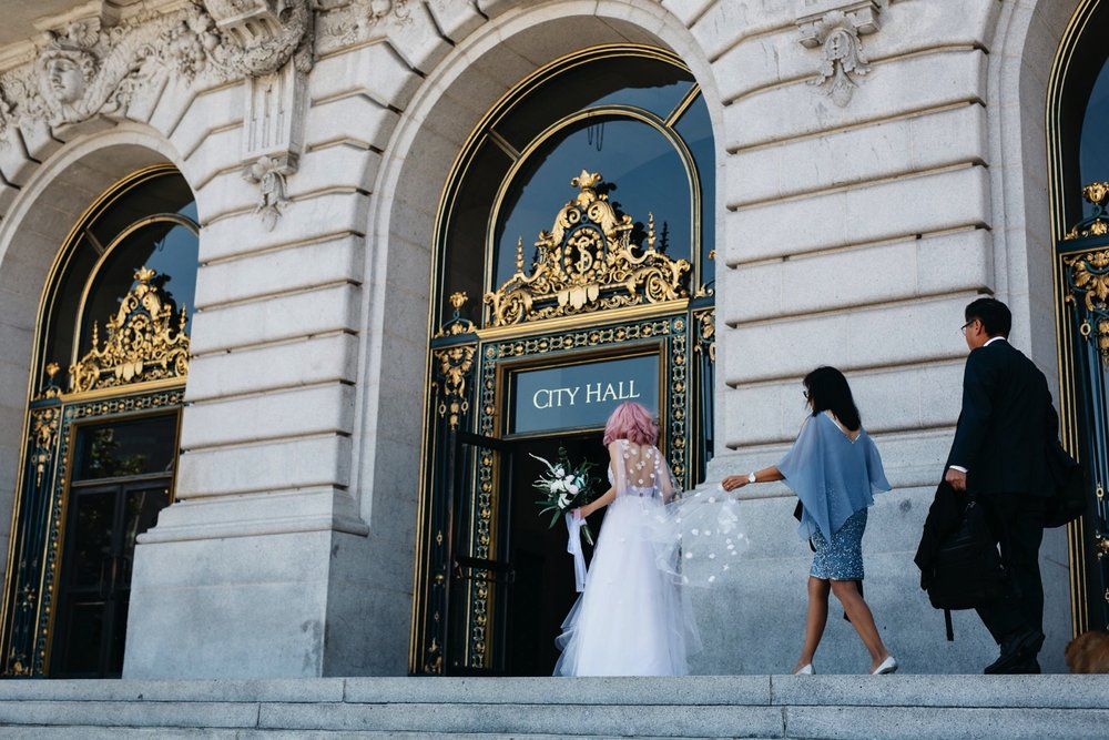 San Fransisco City Hall Elopement Photographer, SF City Hall, SF City Hall Elopement, San Fransisco Elopement Photographer, Elopement Photographer in CA, California Elopement Photographer