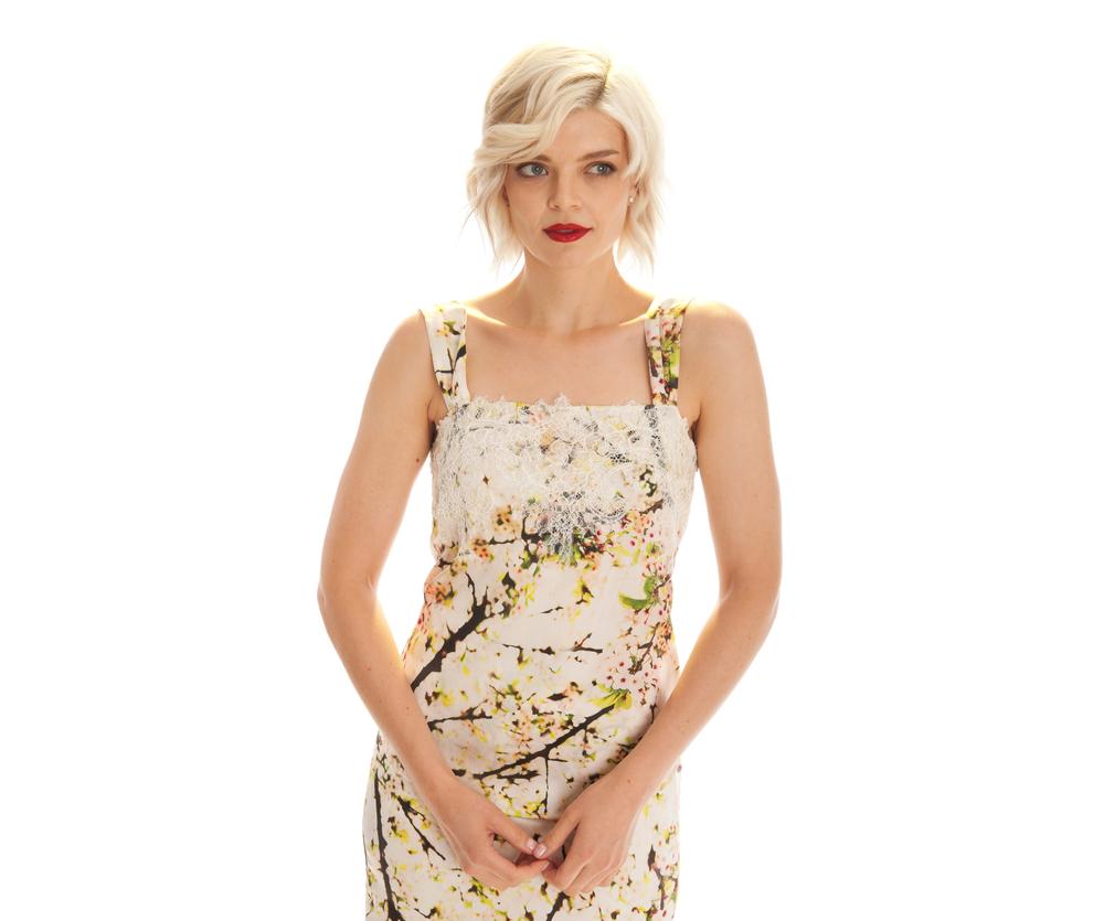 blossom print cami blossom print skirt