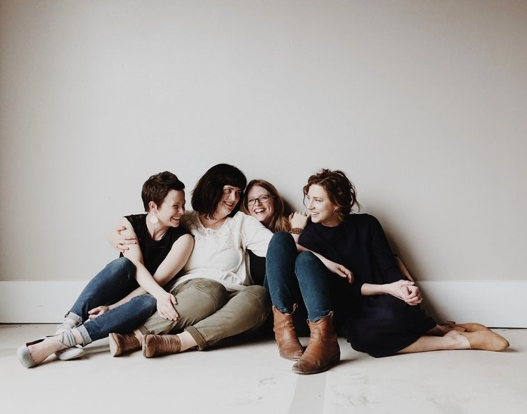 Photo of me + the other TFN Boss Ladies by  Adele Cabanillas