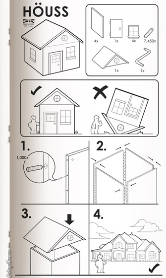 houss instructions