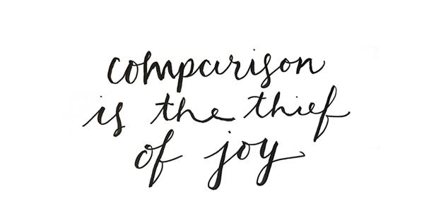 Comparison is the thief of joy - script.png