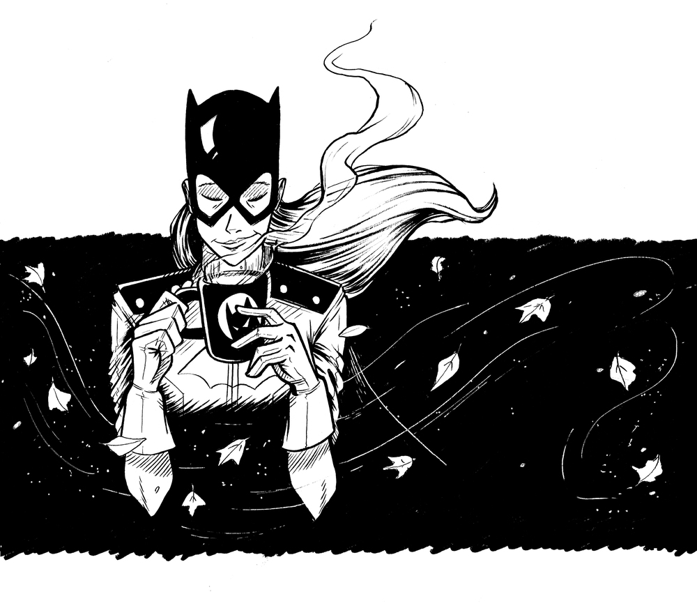 Inktober-5_Batgirl.jpeg