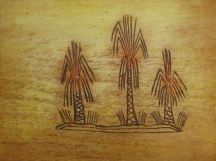 Violet Hammer, Waralungku Arts, Borooloola