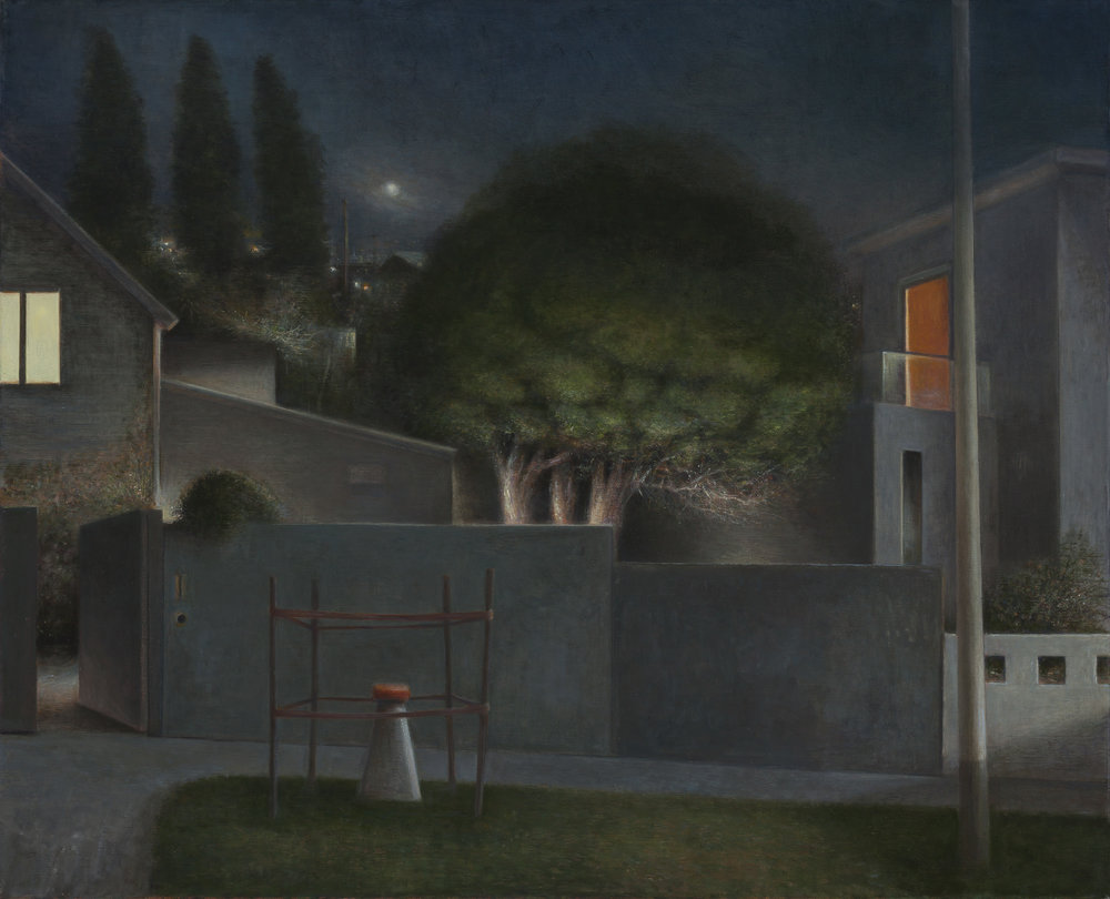 At Night  2015  Oil on linen 66x82 cm $10,000