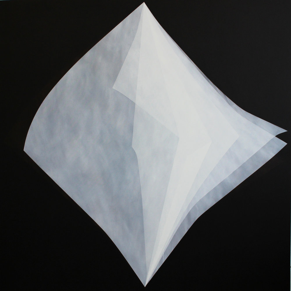 House of breath No.6. , Oil on linen, 190 x 190 cm  $12,00