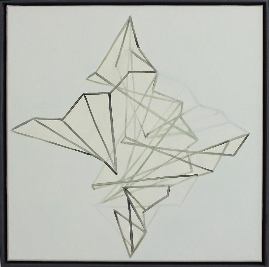 Continuum no.20, Oil on linen, 50 x 50 cm. $2,300