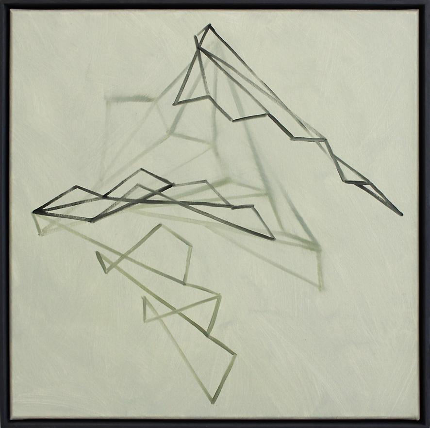 Continuum no.21, Oil on linen, 50 x 50 cm$ 2,300