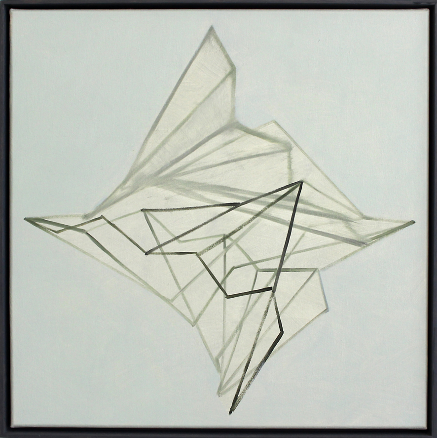 Continuum no.19, Oil on linen, 50 x 50 cm. $2,300 SOLD