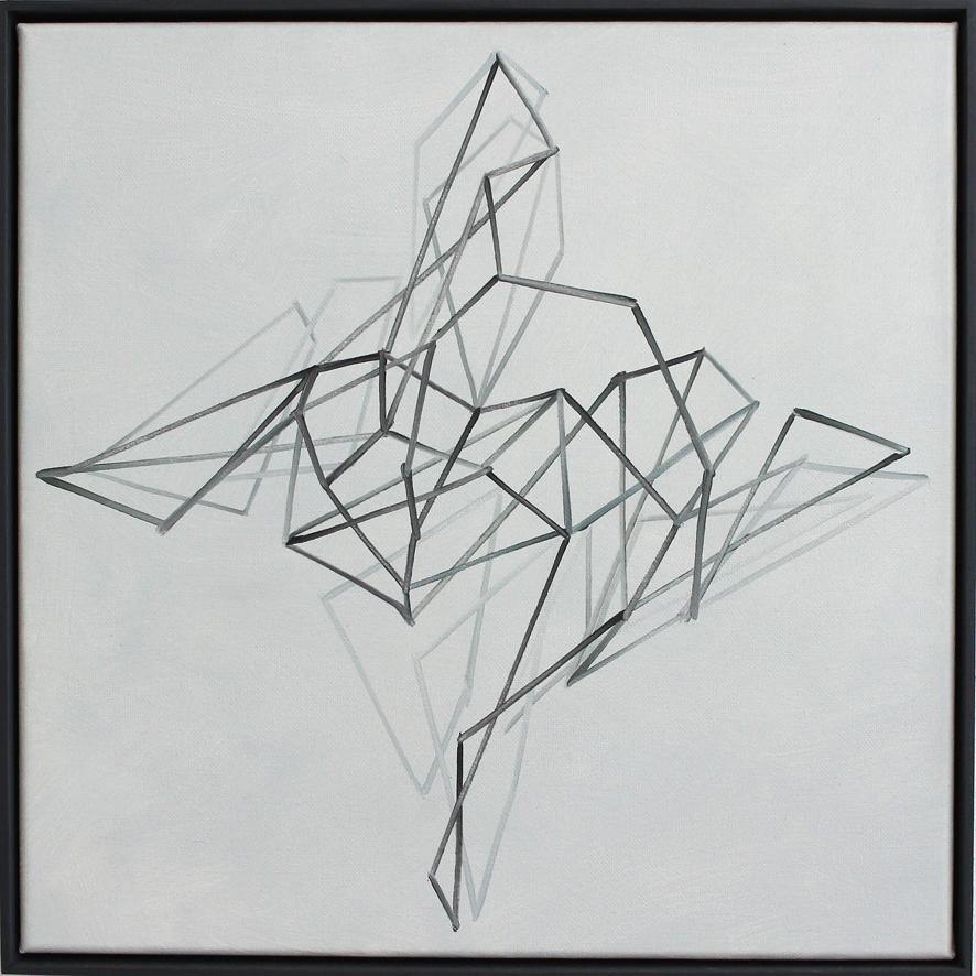 Continuum no.18 Oil on linen, 50 x 50 cm. $2,300