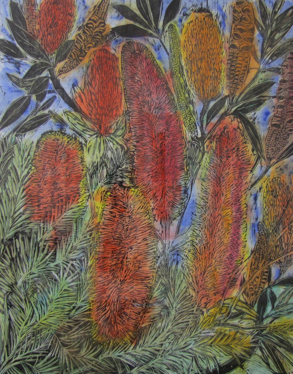 Banksias.  2008