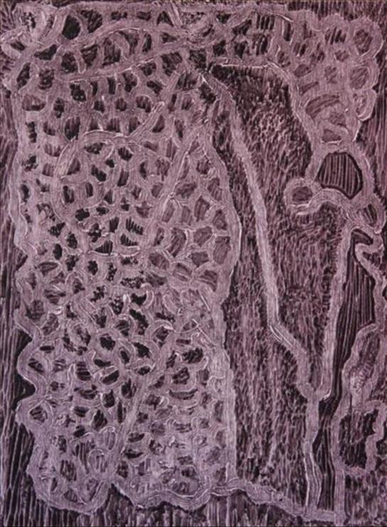 Betty Muffler, Rukuringanyi Ngura. 2014   Woodblock. Ed 2 /10   39.7 x 29.7 cm. $280 (unframed) $400 (framed)