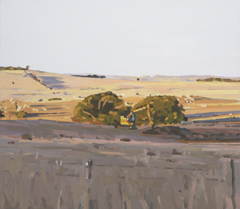 Scenes from an afternoon No.12.  2018. Oil on canvas. 66 x 76 cm. $2,200 SOLD