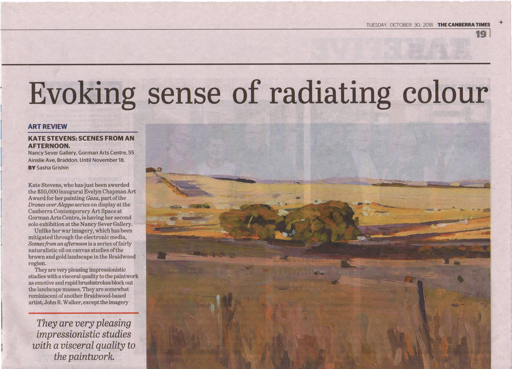 NSG.Kate Stevens exhibition review CT.30Oct18.p.1.jpg