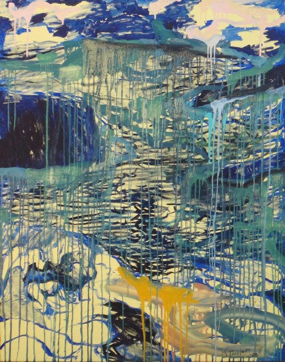 Balls Head. 2018.      oil on canvas.122 x 96 cm. $8,000