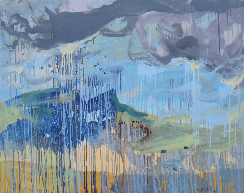Thundercloud. 2018. oil on canvas.96 x 122 cm. $8,000 SOLD