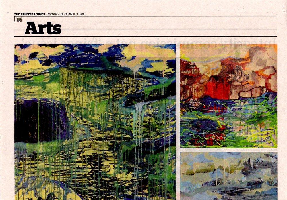 NSG.Michael Taylor exhibition review CT 3dec18 p1.jpg
