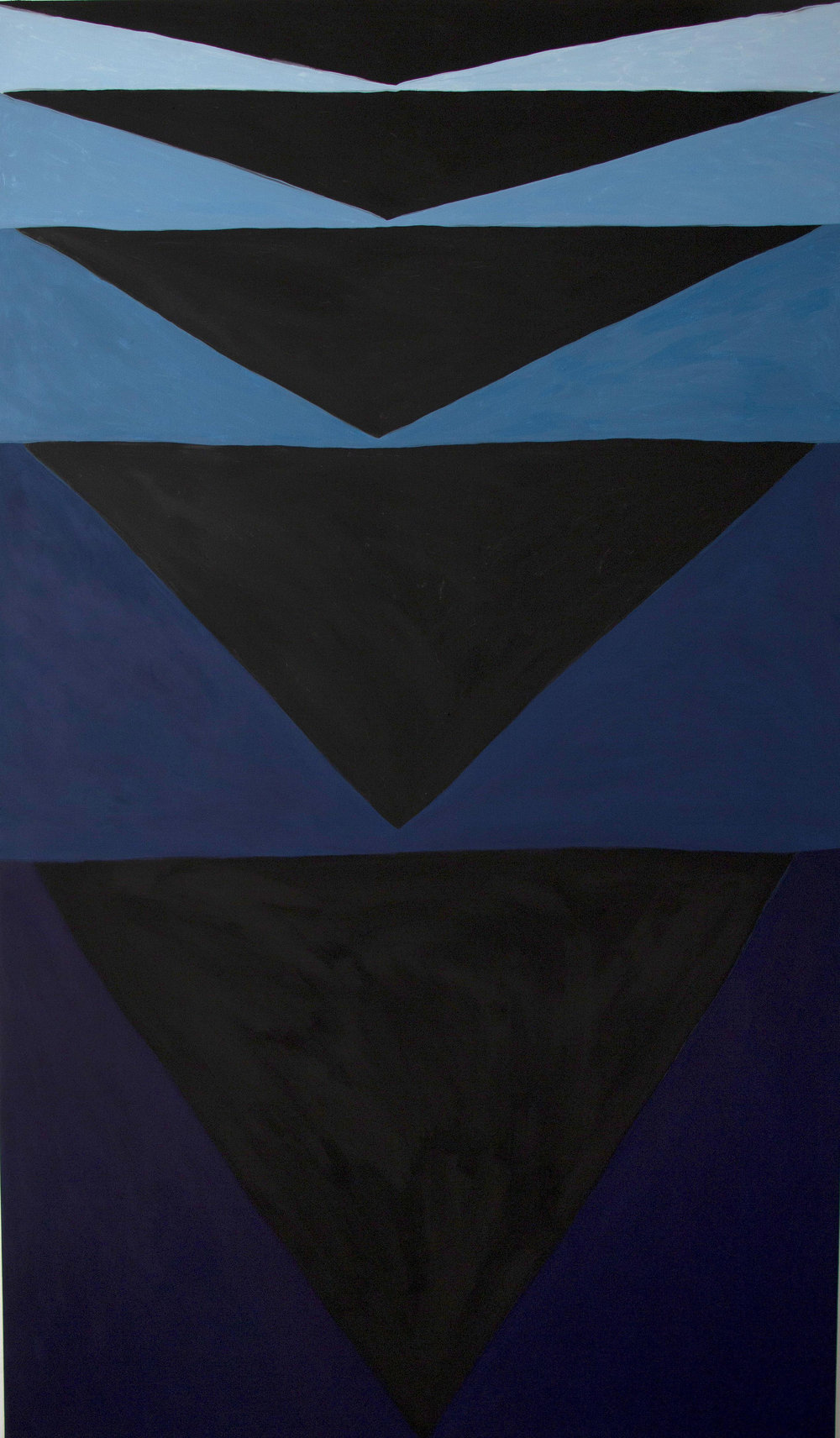 Going deep, 2018. Oil and tempera on linen, 190 x 110 cm. $8,900 SOLD