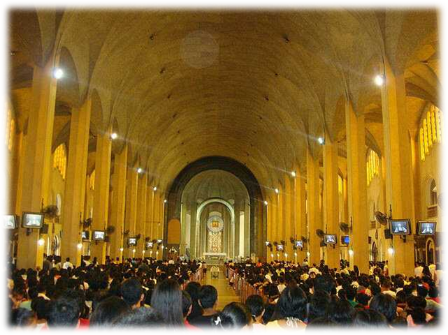 Mass on Christmas Eve is a strong tradition in the heavily Catholic Philippines.png