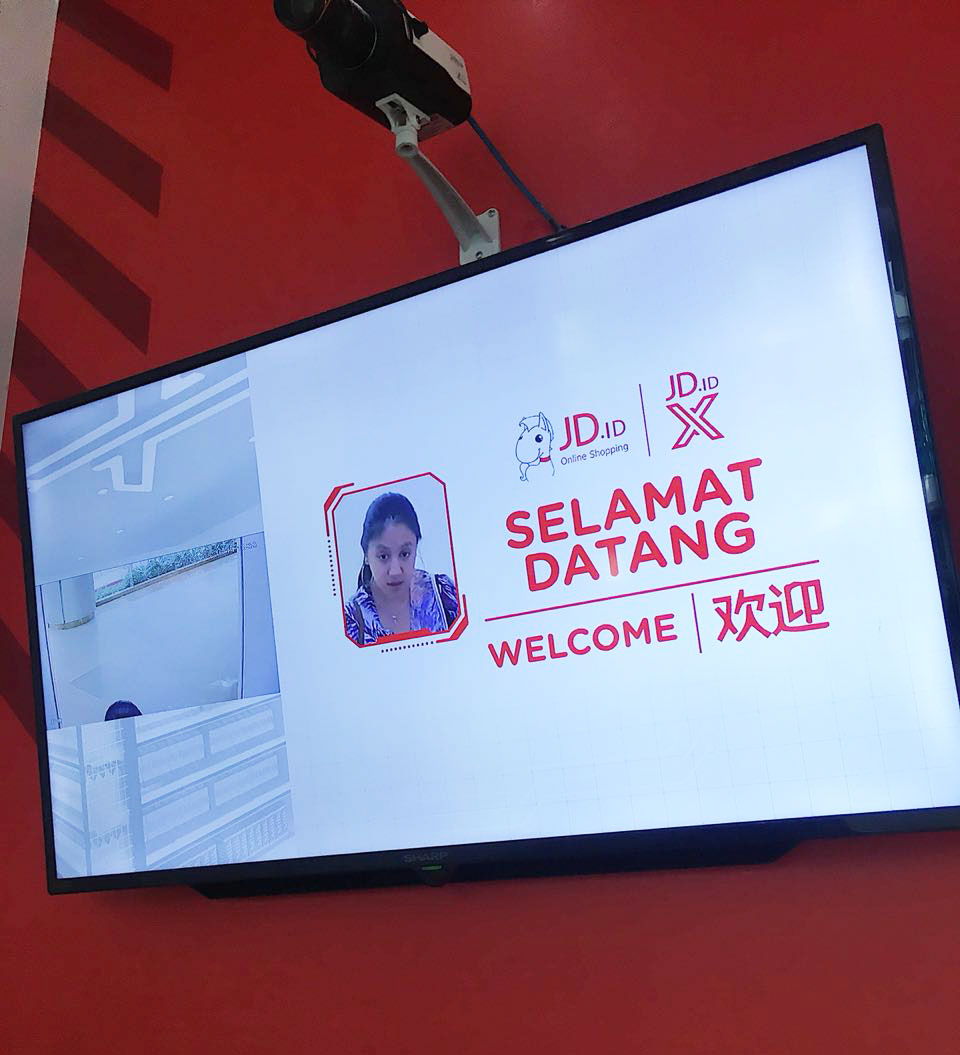 JD unmanned store Jakarta