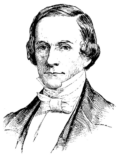 Public domain; 19th century illustration of Henry Wheaton.