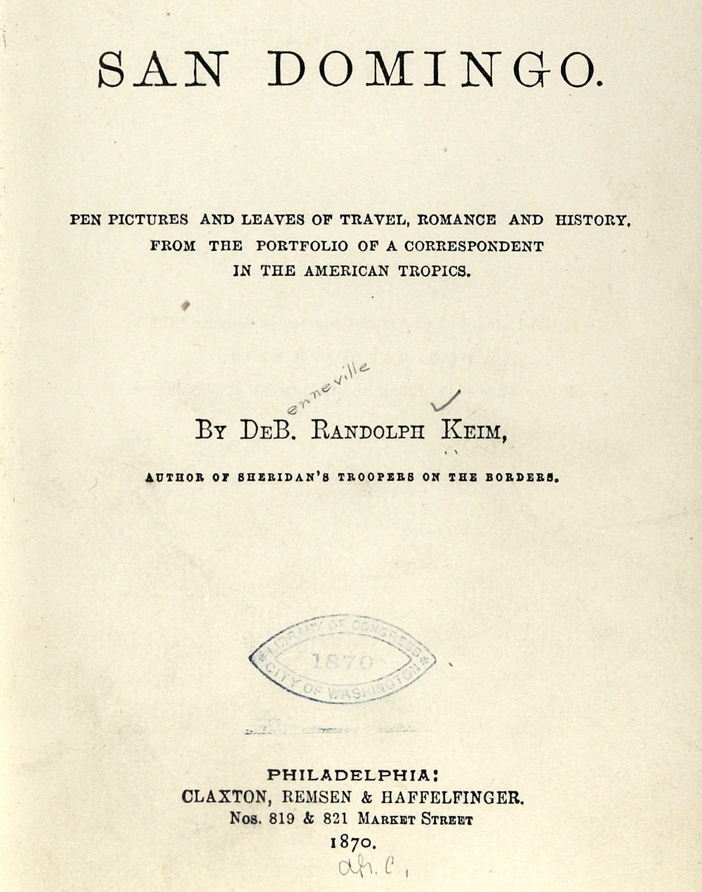 Public domain, via the Library of Congress.