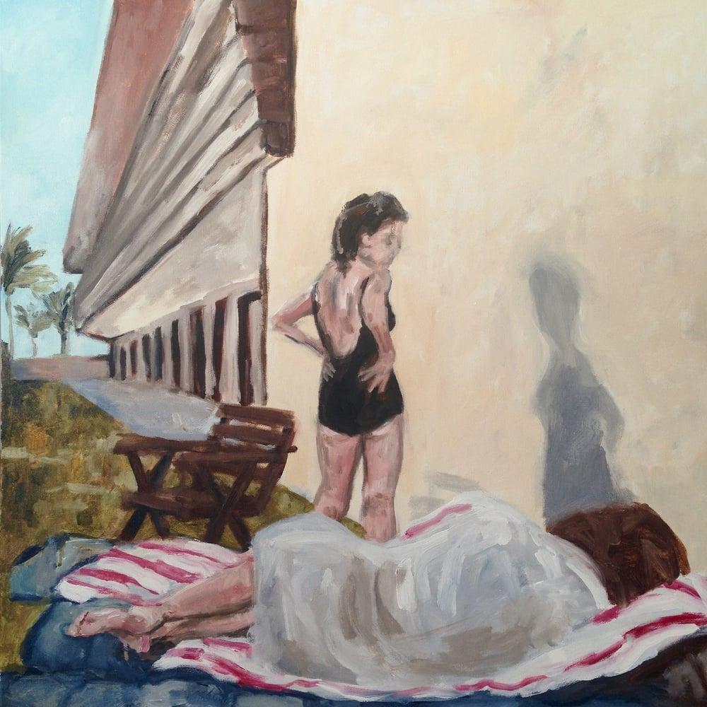 """Palm Springs, 24"""" x 24"""", acrylic on canvas"""