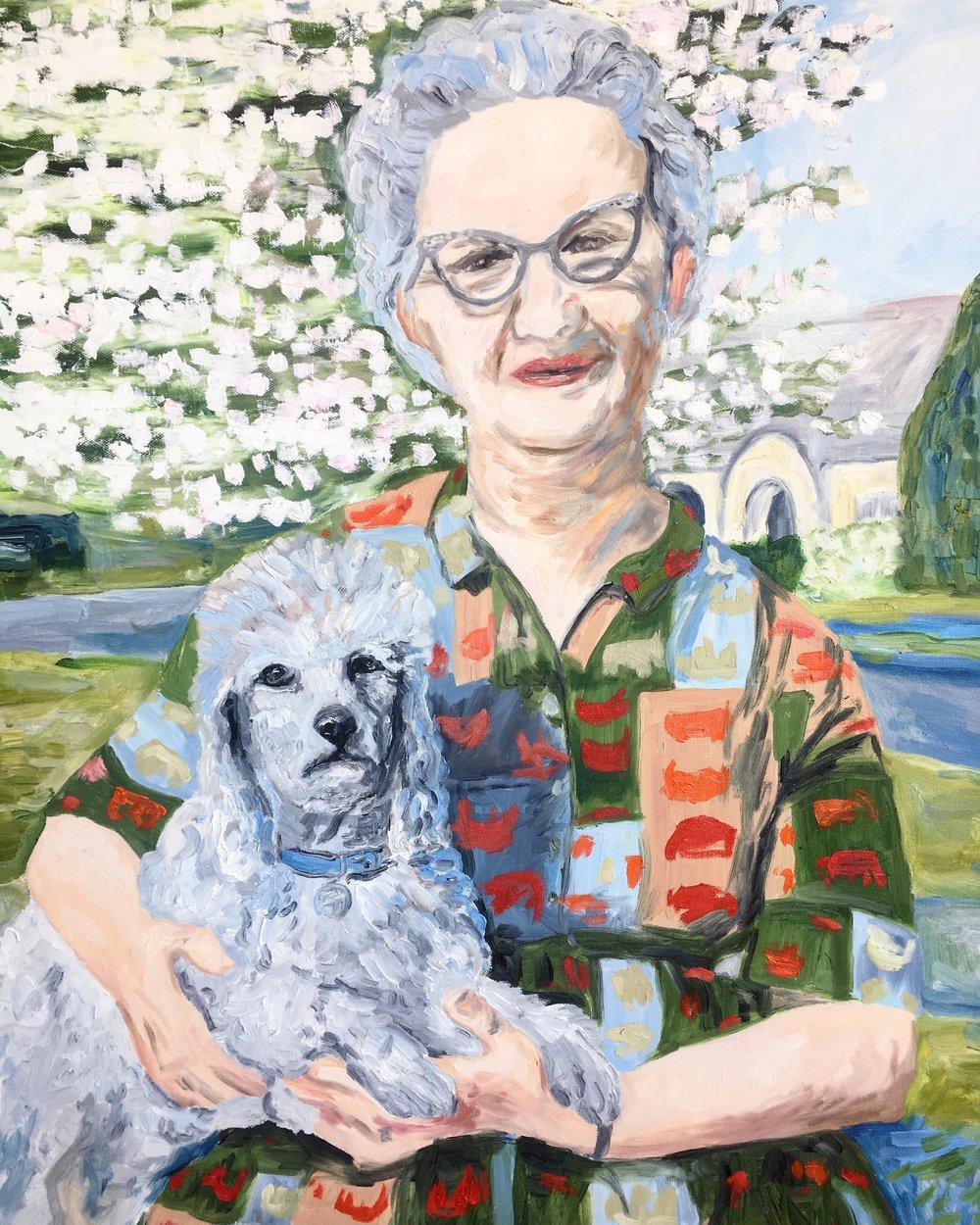 Ruth, 24 x 30