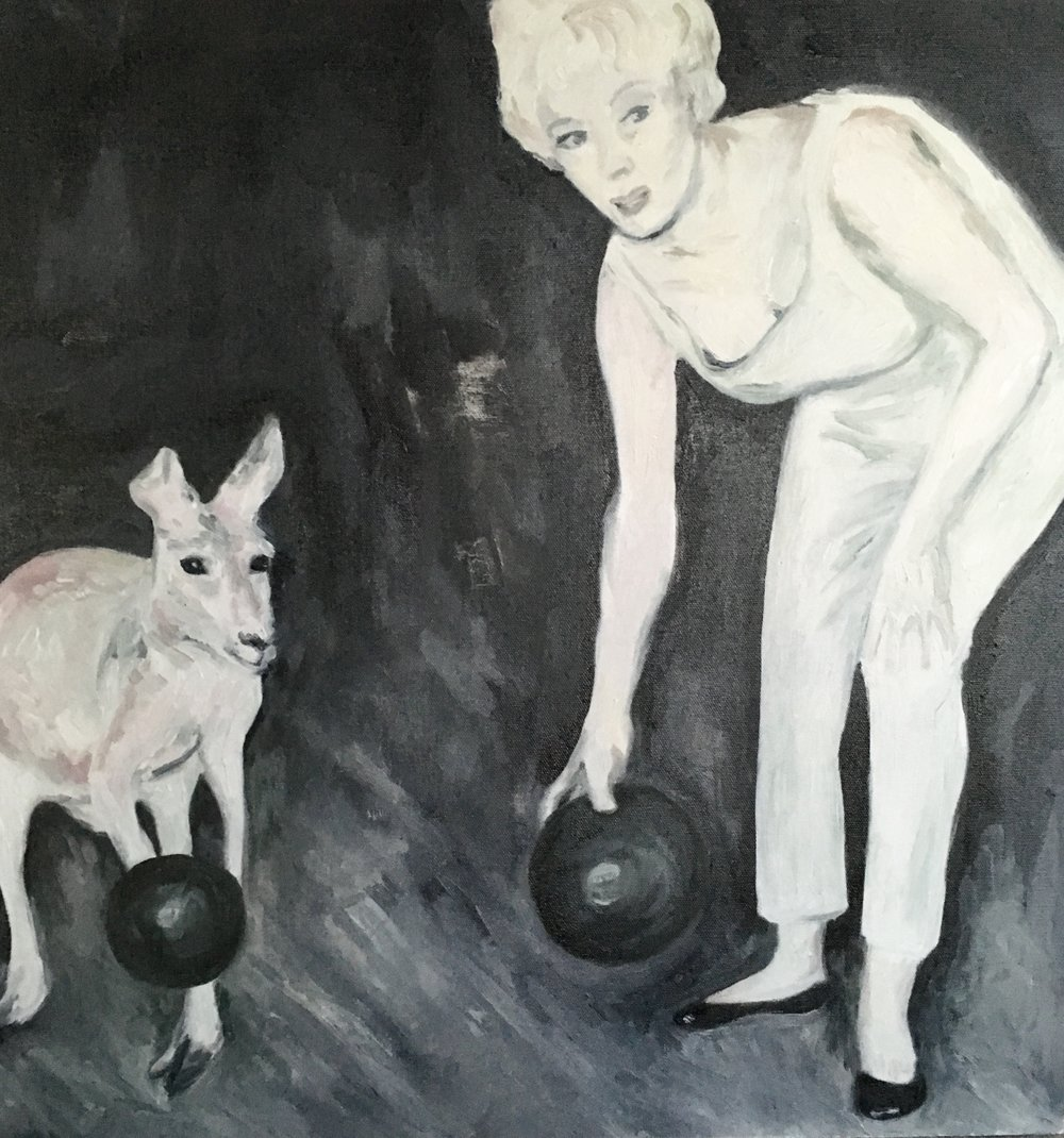 bowlers, 24 x 24