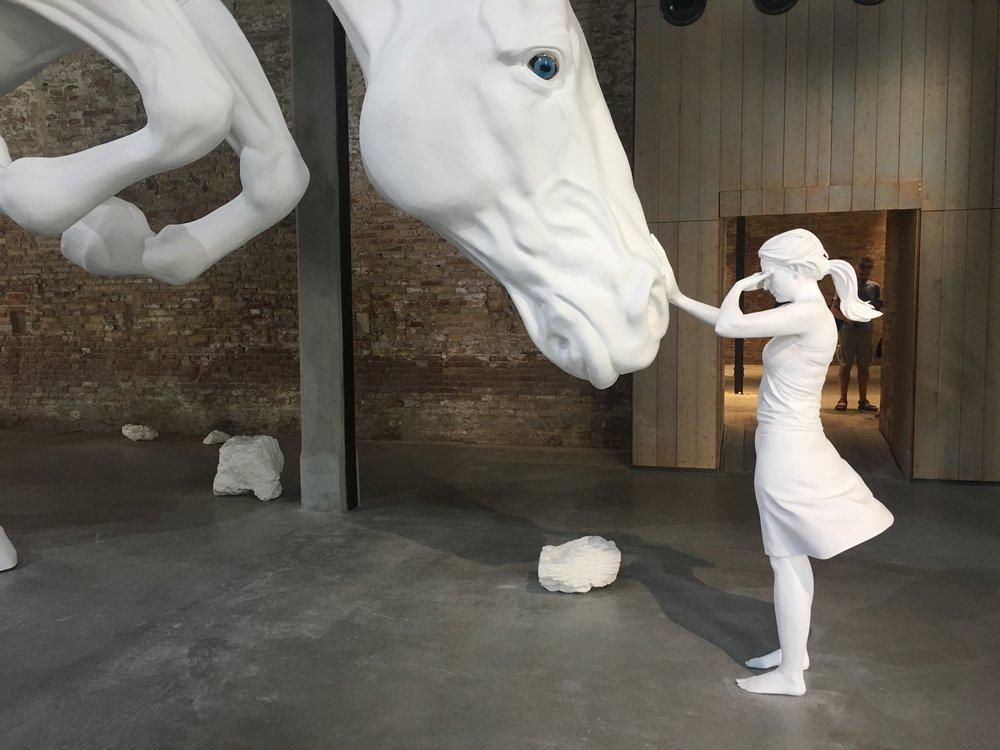 Claudia Fontes, The Horse problem