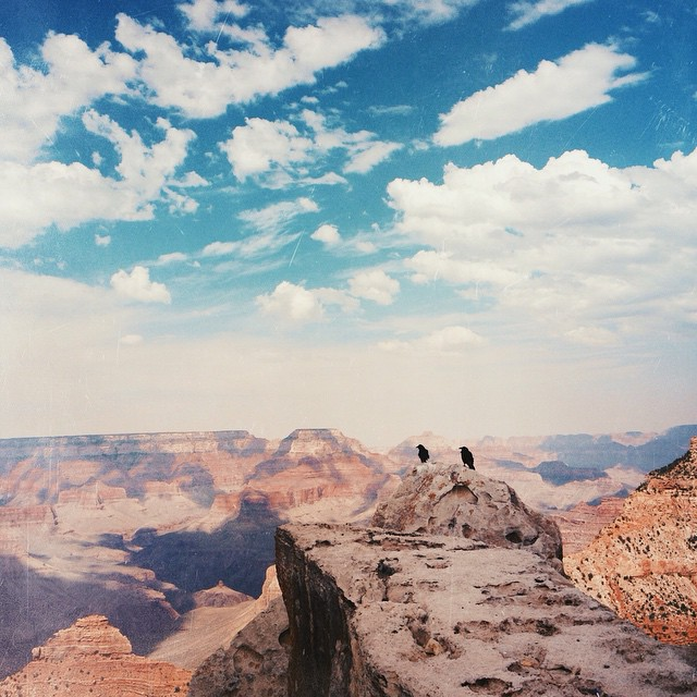 Land so plentiful that we could bury our secrets in.  #vsco #vscocam #grandcanyon