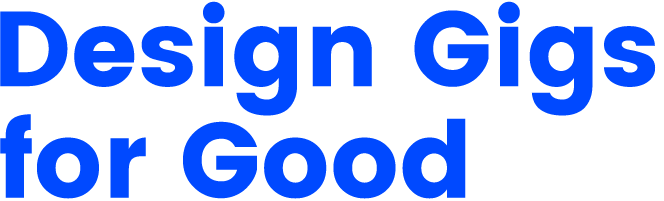 Design Gigs for Good