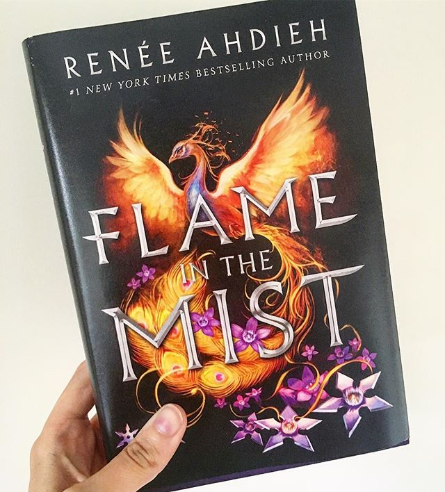 My Sunday read! I couldn't put this down - it was so amazing!  I love retellings and this is an original spin on the Mulan story. It has enough elements that remind me of Mulan, yet so many original twists and turns!  #bookstagram #books #book #instabook #booklr #bookstagramfeature #flameinthemist #reneeahdieh #booknerd #bookworm #reading #read #sunday #ya #bibliophile