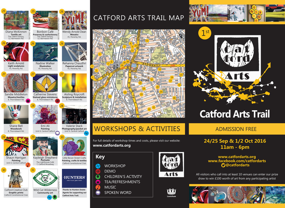 Catford Arts Trail A3 leaflet.indd