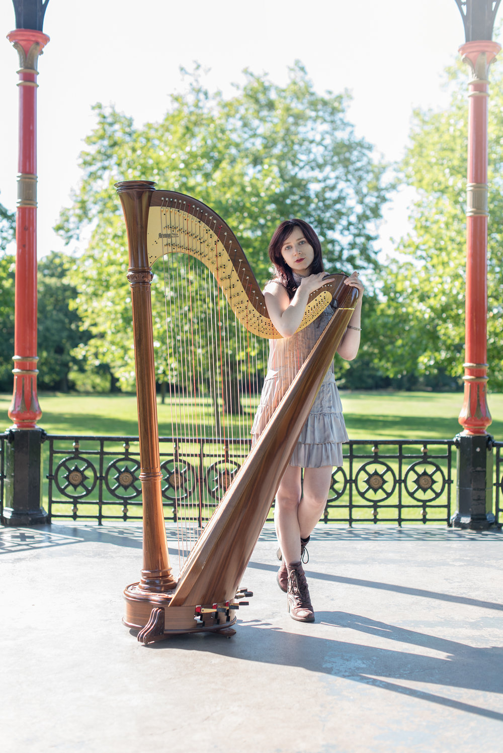 - Emily has the rare combination of genuine friendliness and a high level of professionalism that makes for an excellent photographer. She was understanding of the difficulties of shooting with a 6ft concert harp and delivered the finished product in record time!Julia Mascetti, Harpist