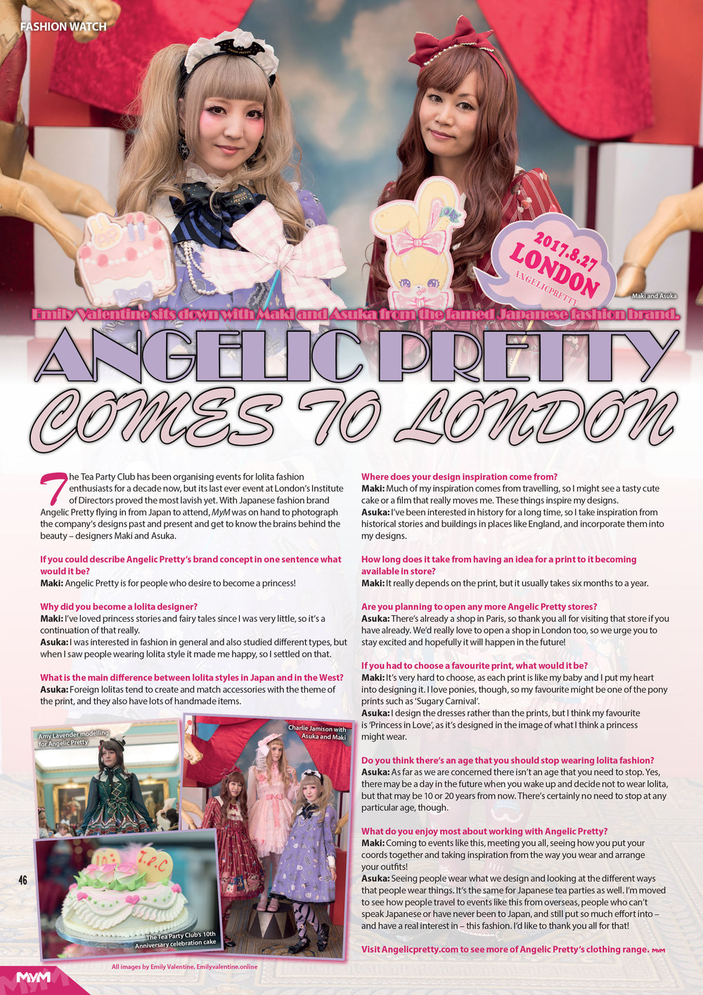 Interview with Japanese Fashion Brand Angelic Pretty