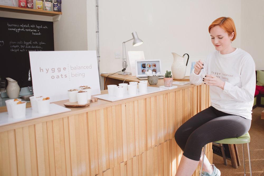hygge oats small business shoot