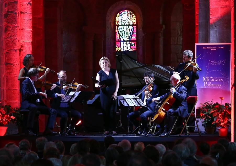 Karine Deshayes, Quatuor Danel, Elise Thibaut, Adrien La Marca en 2017