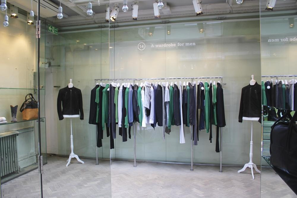 Inside the Maison Martin Margiela store in Mayfair