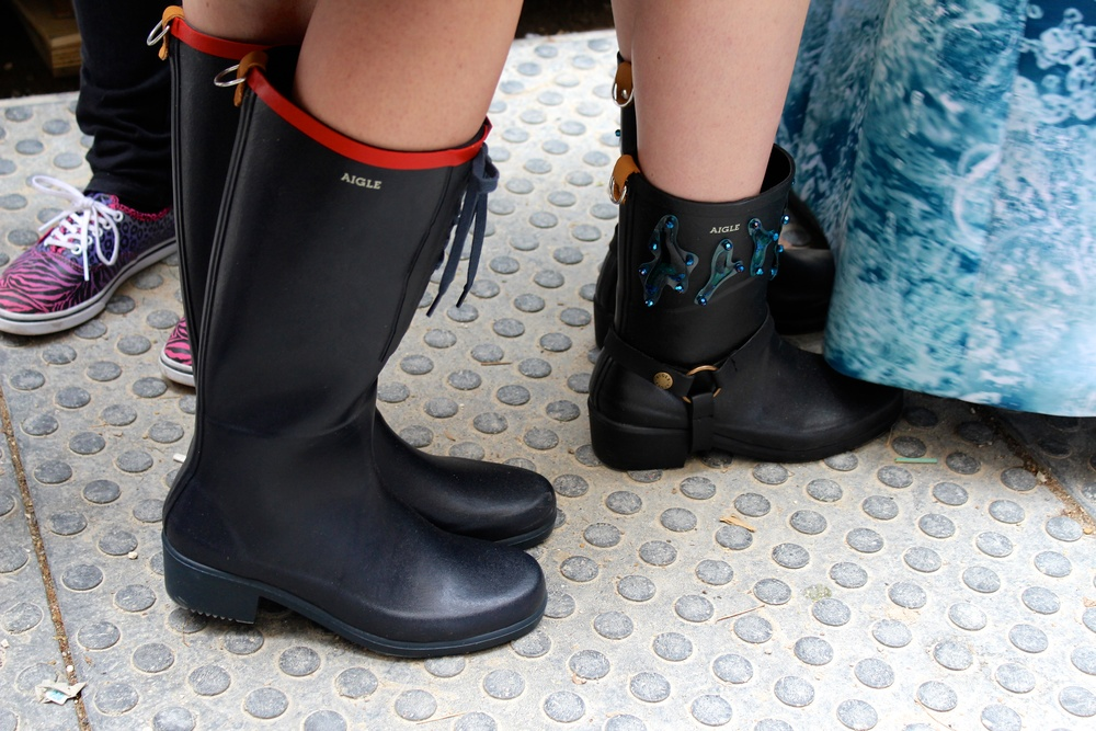 Customized Aigle water-proof rubber boots