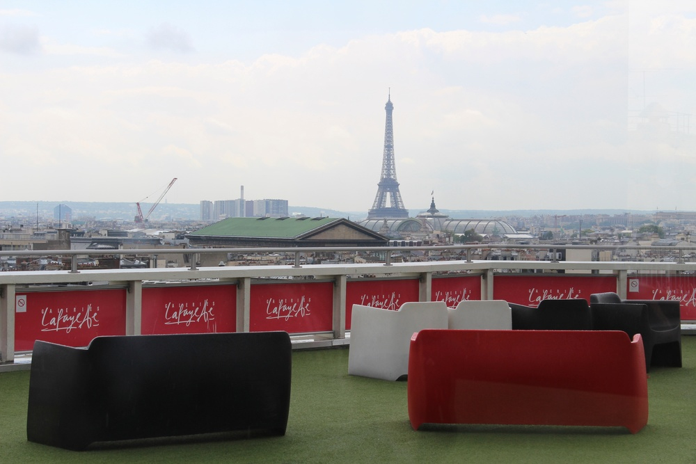Galeries Lafayette Rooftop