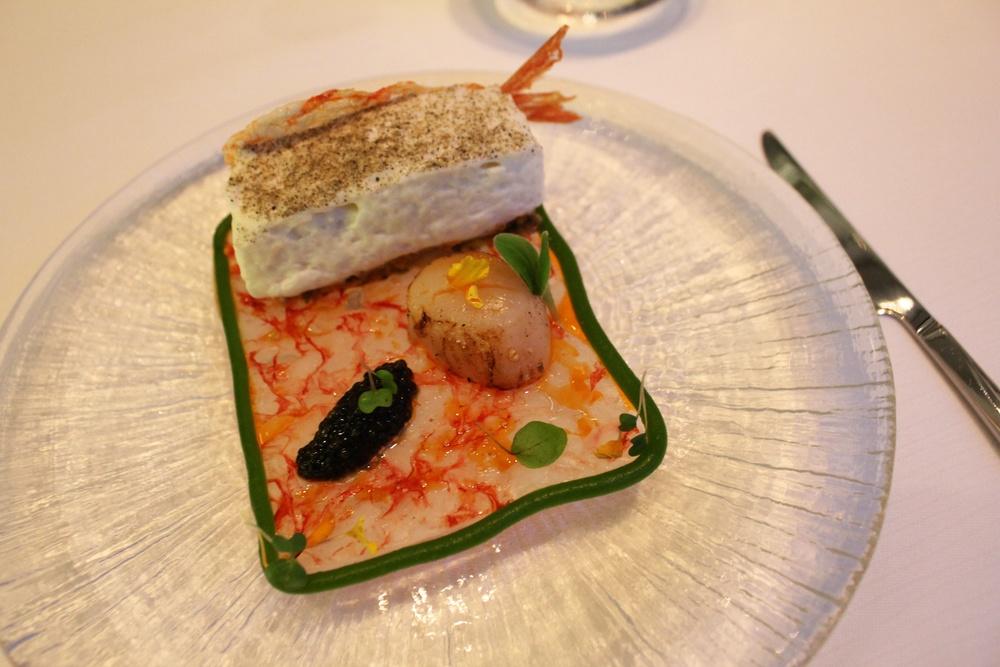 """Appetizer - 'Seafood Tiramisu"""""""