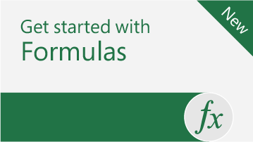 Formula tutorial   Walk through Excel's most common formulas with real world examples.   Download