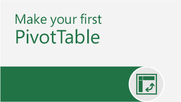 PivotTable tutorial   Learn the ropes - find out how easy it is to use and make PivotTables in Excel.   Download