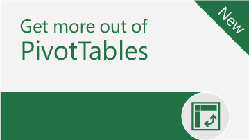 Get more out of PivotTables   Learn the ropes - find out how easy it is to use and make PivotTables in Excel.   Download
