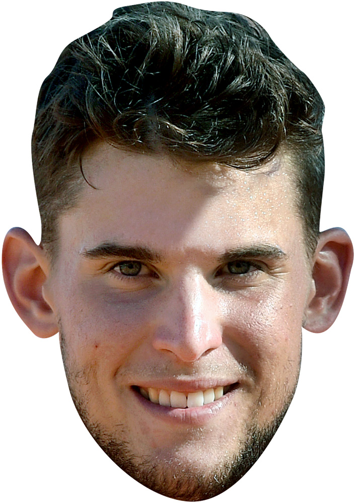 Image result for dominic thiem ears